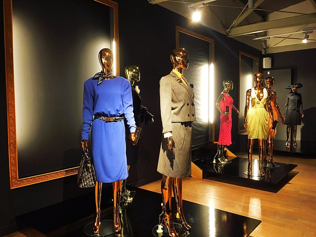 Overview Christian Dior exhibition