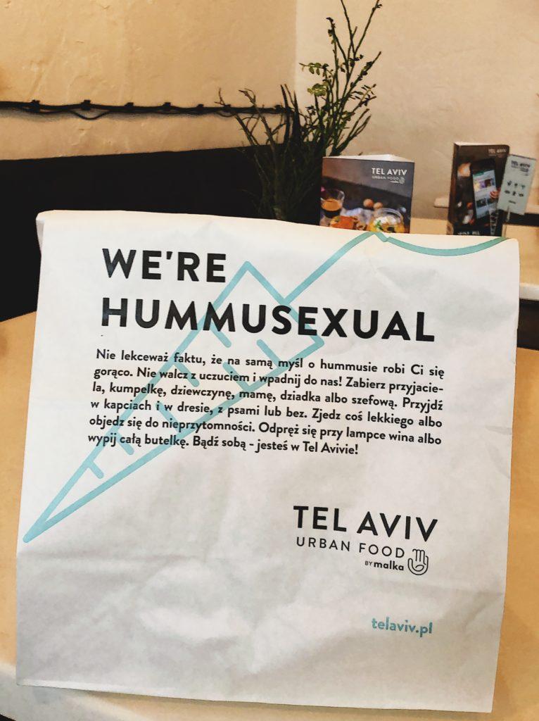 Take Away bag Tel Aviv Urban Food Warsaw