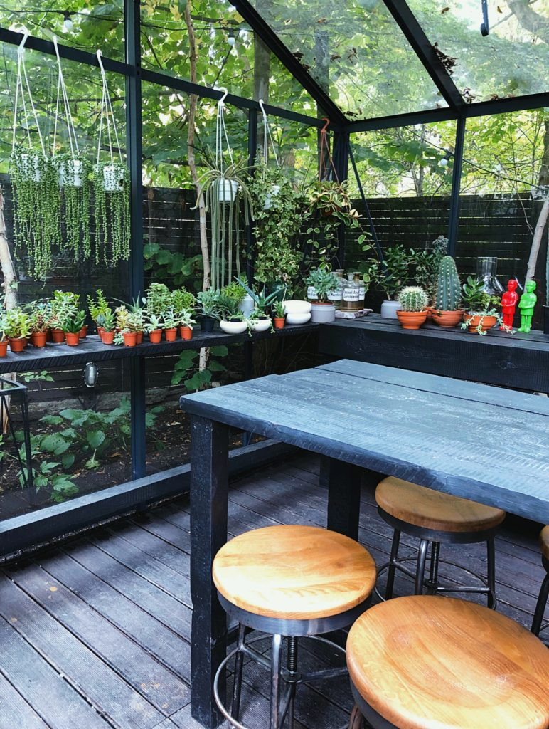 Greenhouse at Eden Bistro Warsaw