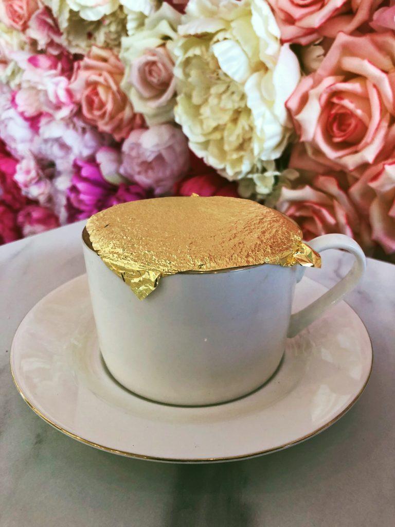24k gold cappuccino EL Krepel Warsaw