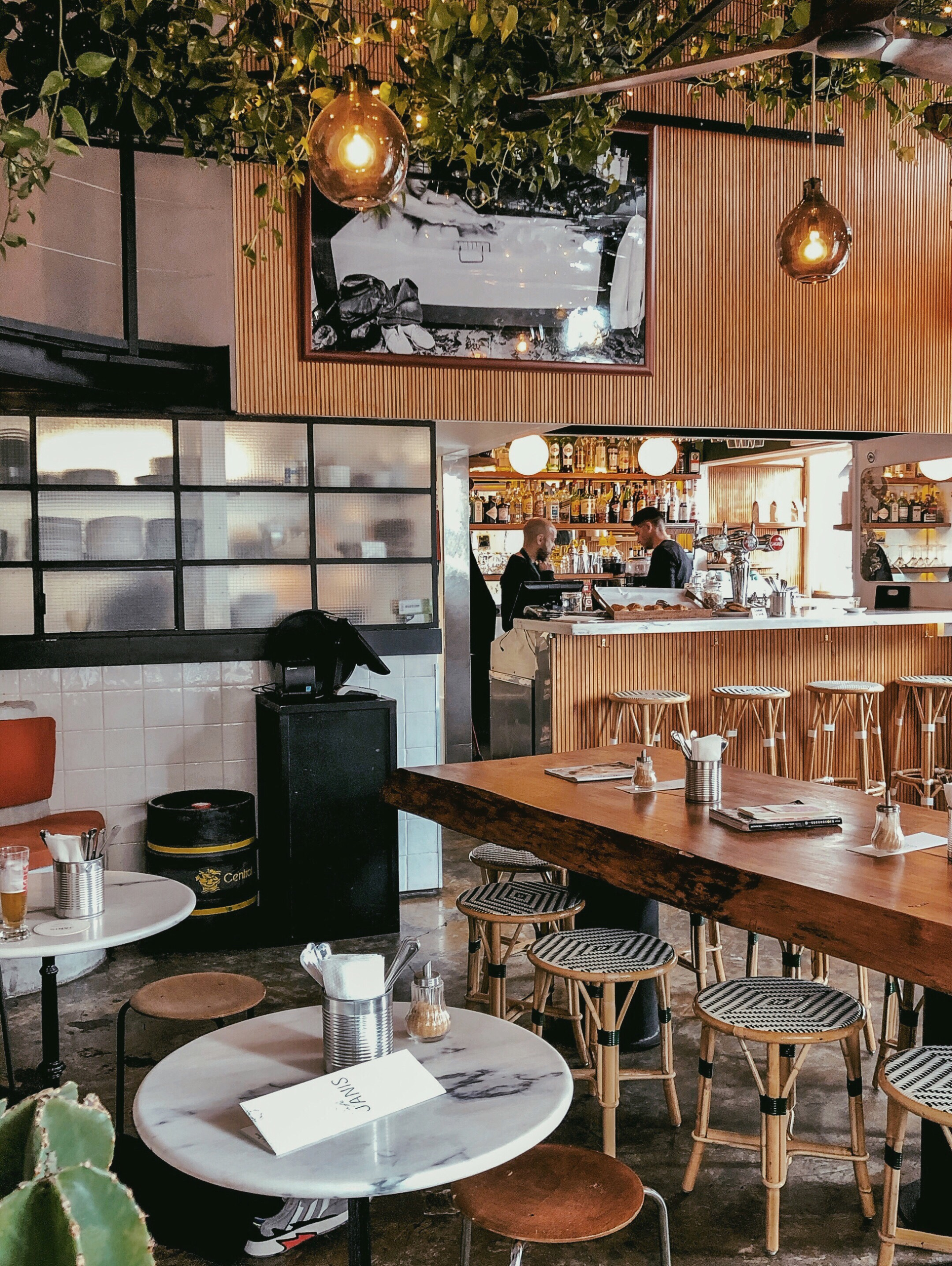 Bar view Café Janis