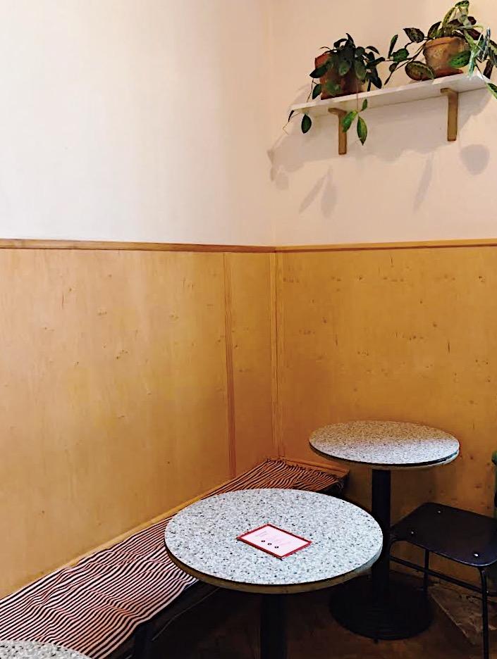 Interior of Forum Coffee
