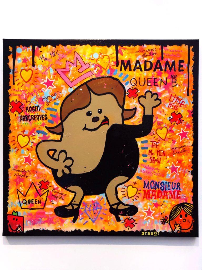 'Madame Queen B' by Argadol artist