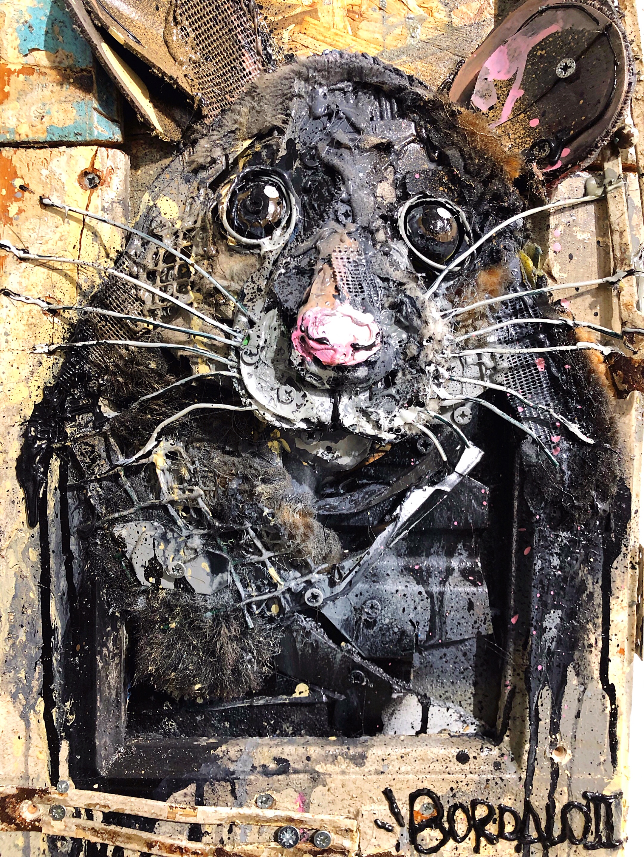 Bordalo II artwork
