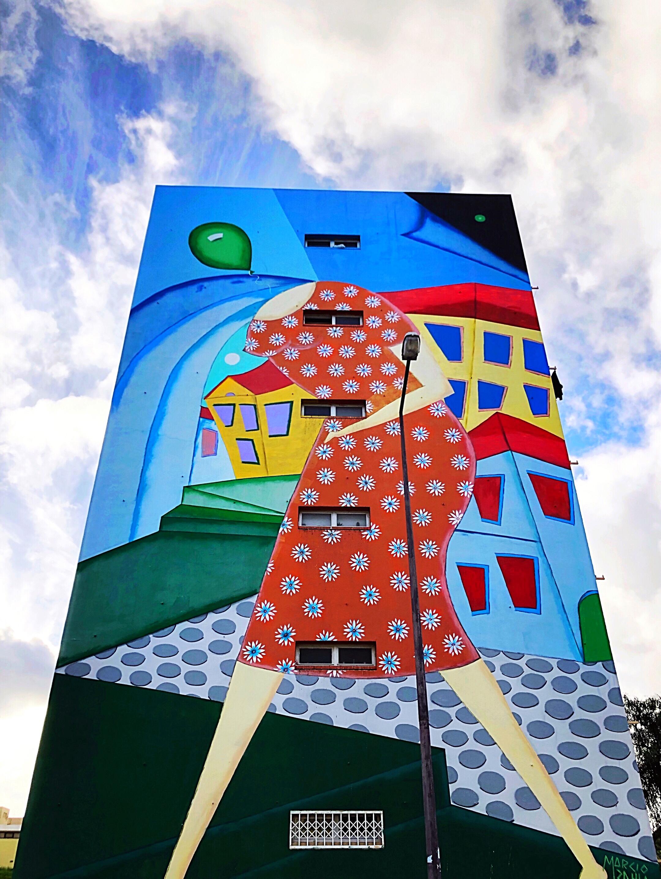Marcio Bahia street art