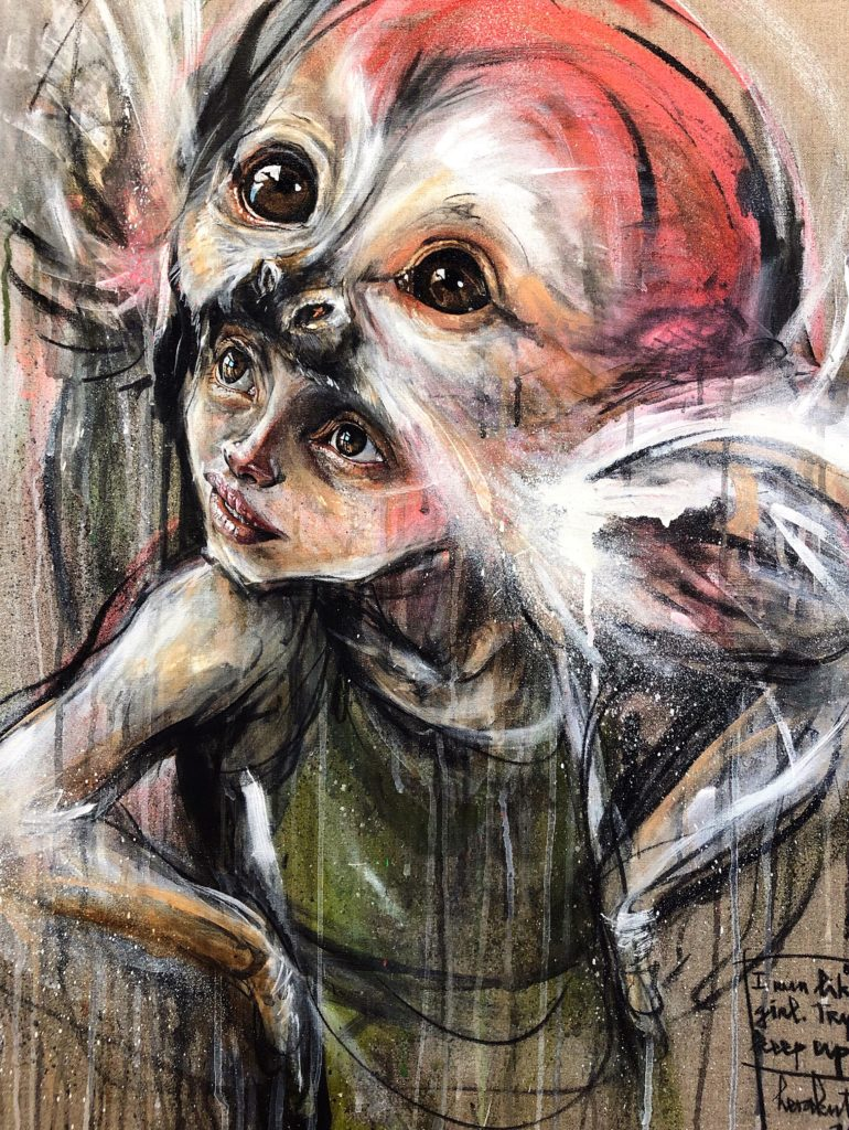 Herakut artwork