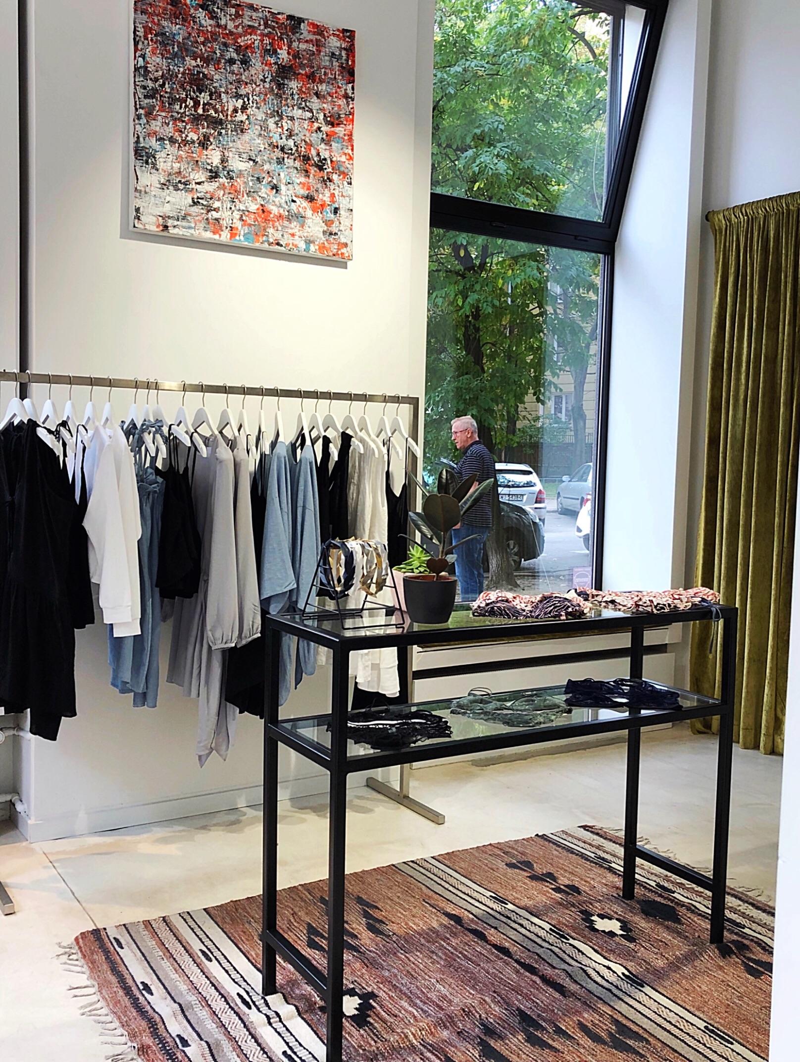 Inside The Odder Side boutique Warsaw