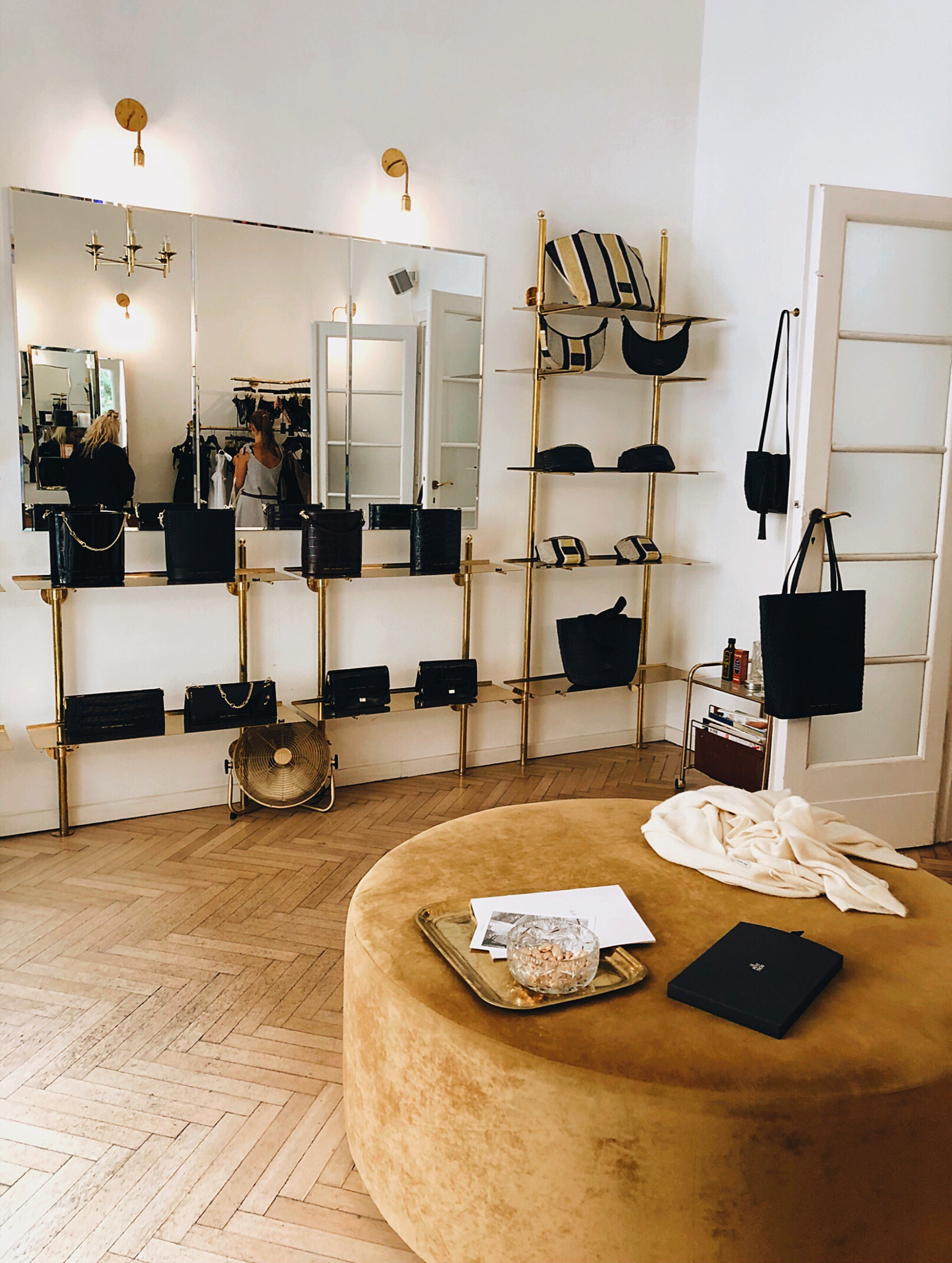 Inside Chylak boutique