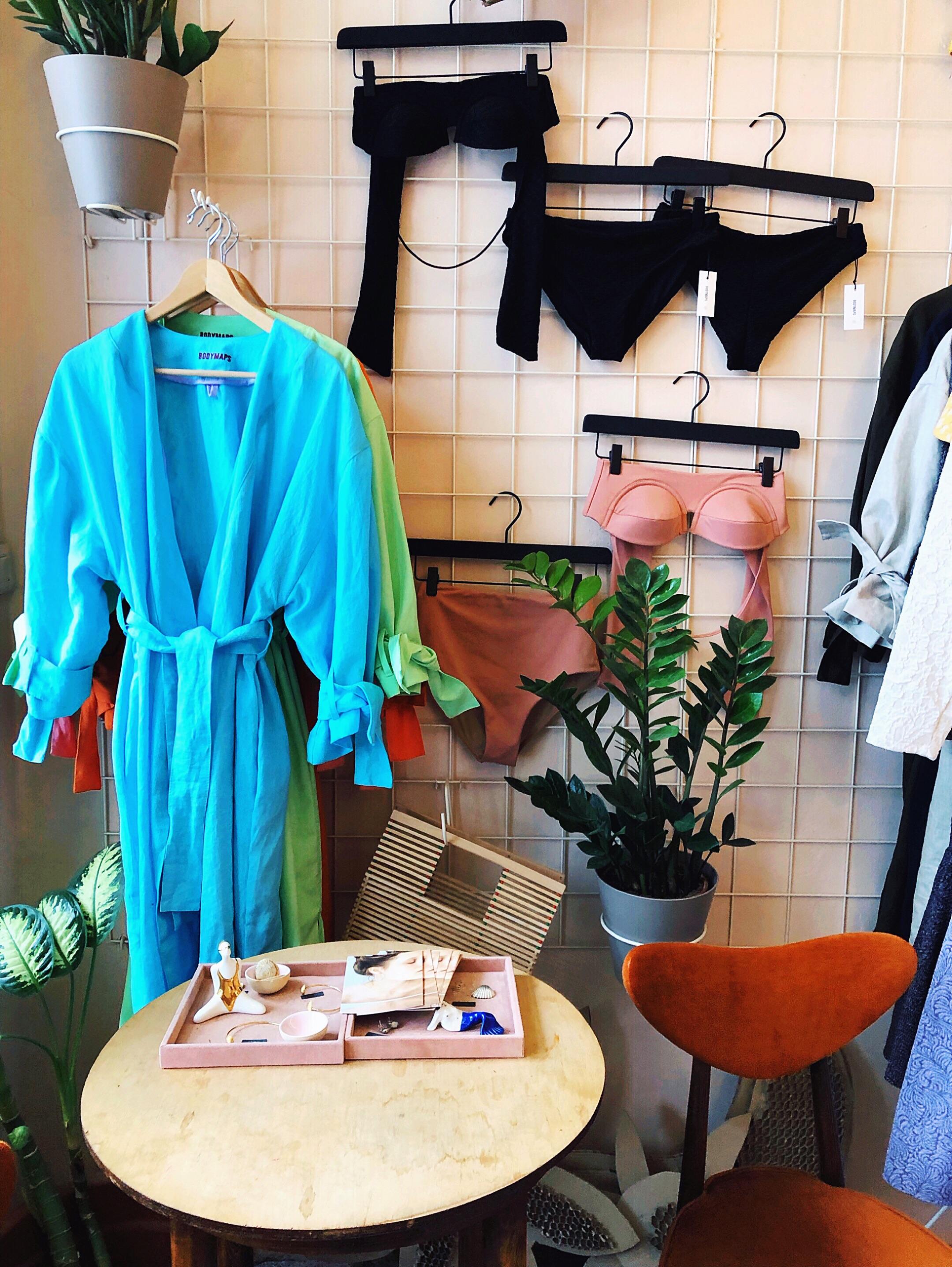 Inside Bodymaps boutique Warsaw