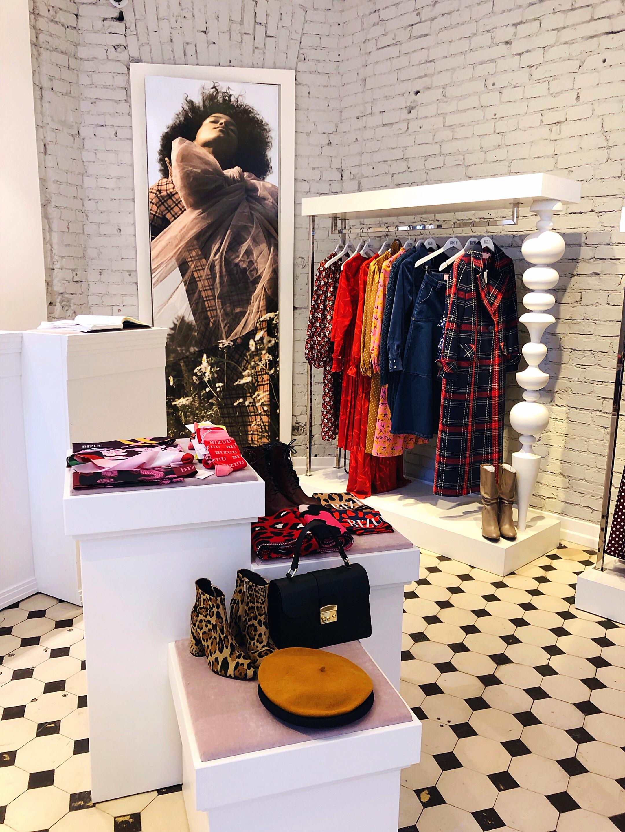 Inside Bizuu boutique Warsaw