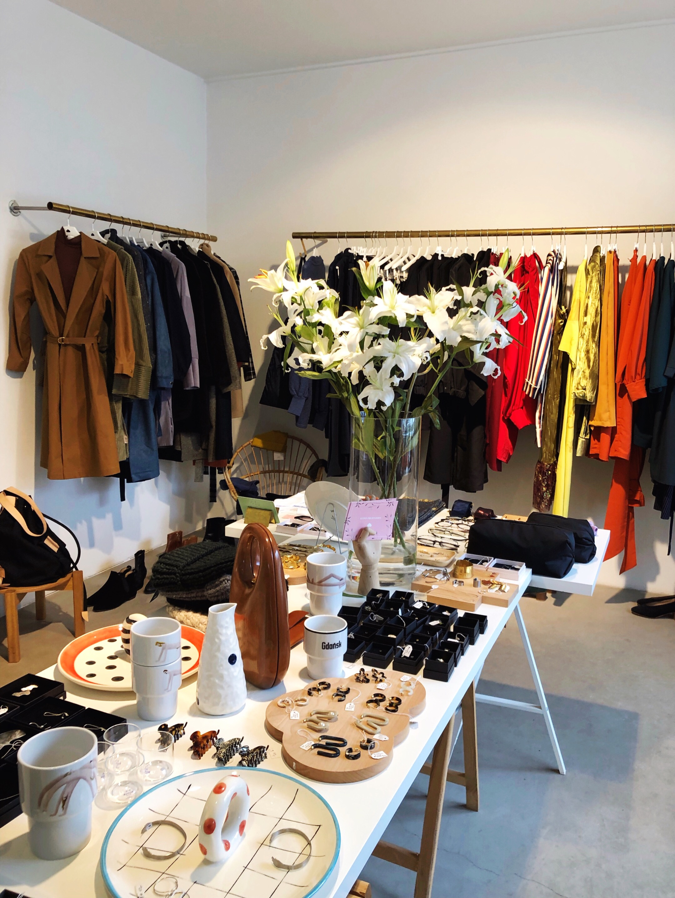 Inside Cloudmine boutique Warsaw