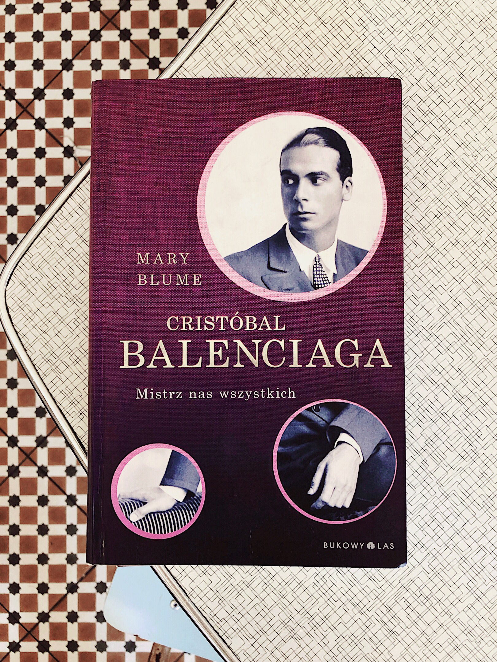 Cristobal Balenciaga book on the table