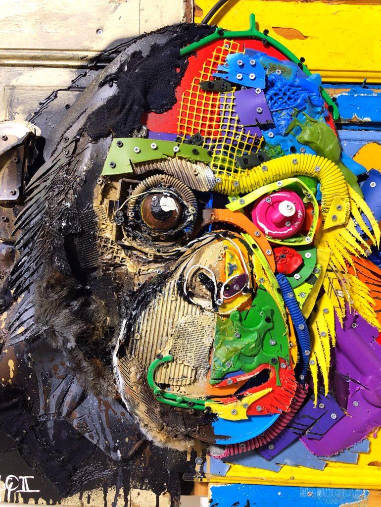 Boradolo II monkey head - Paris art galleries