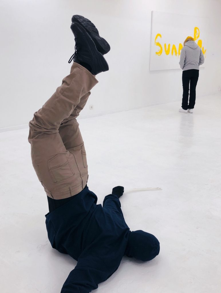 Mark Jenkins artworks - Paris art galleries