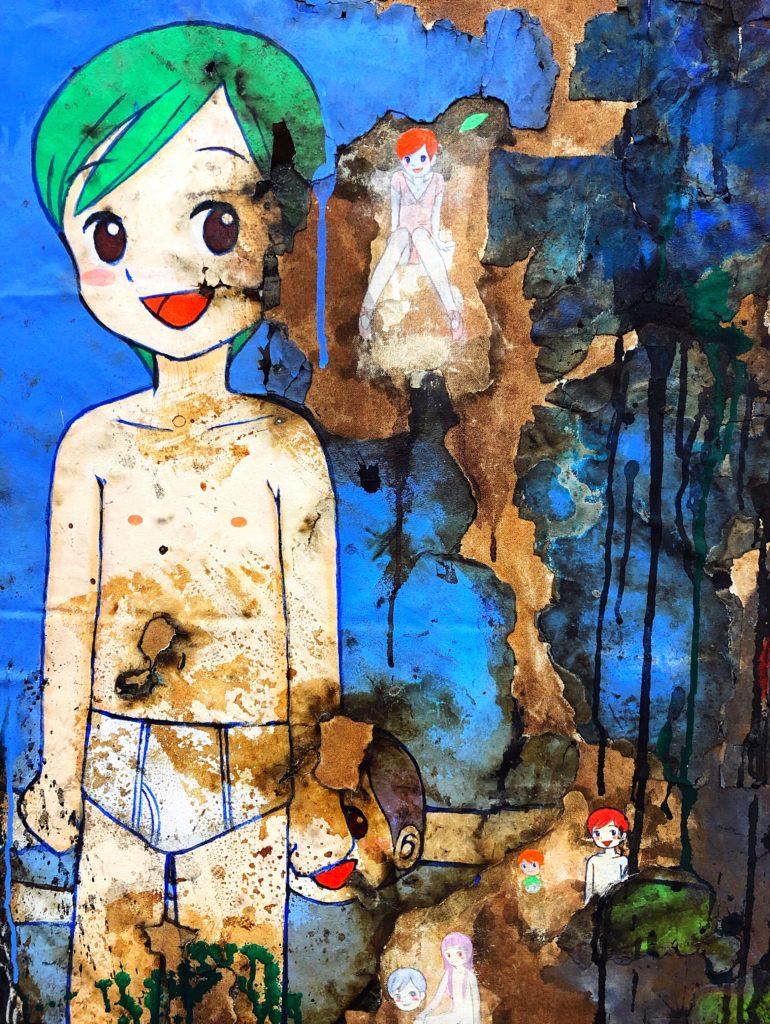 Mr Yanen artwork at Perrotin Gallery