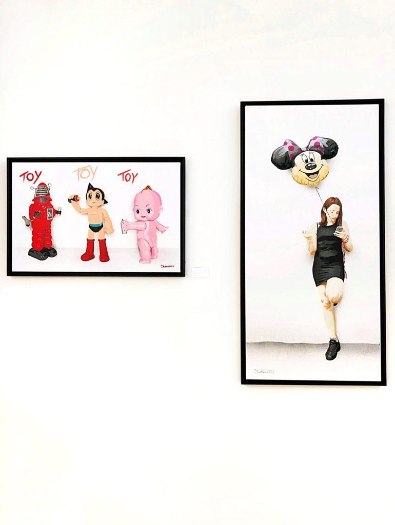 Dotmaster artworks at GCA Gallery