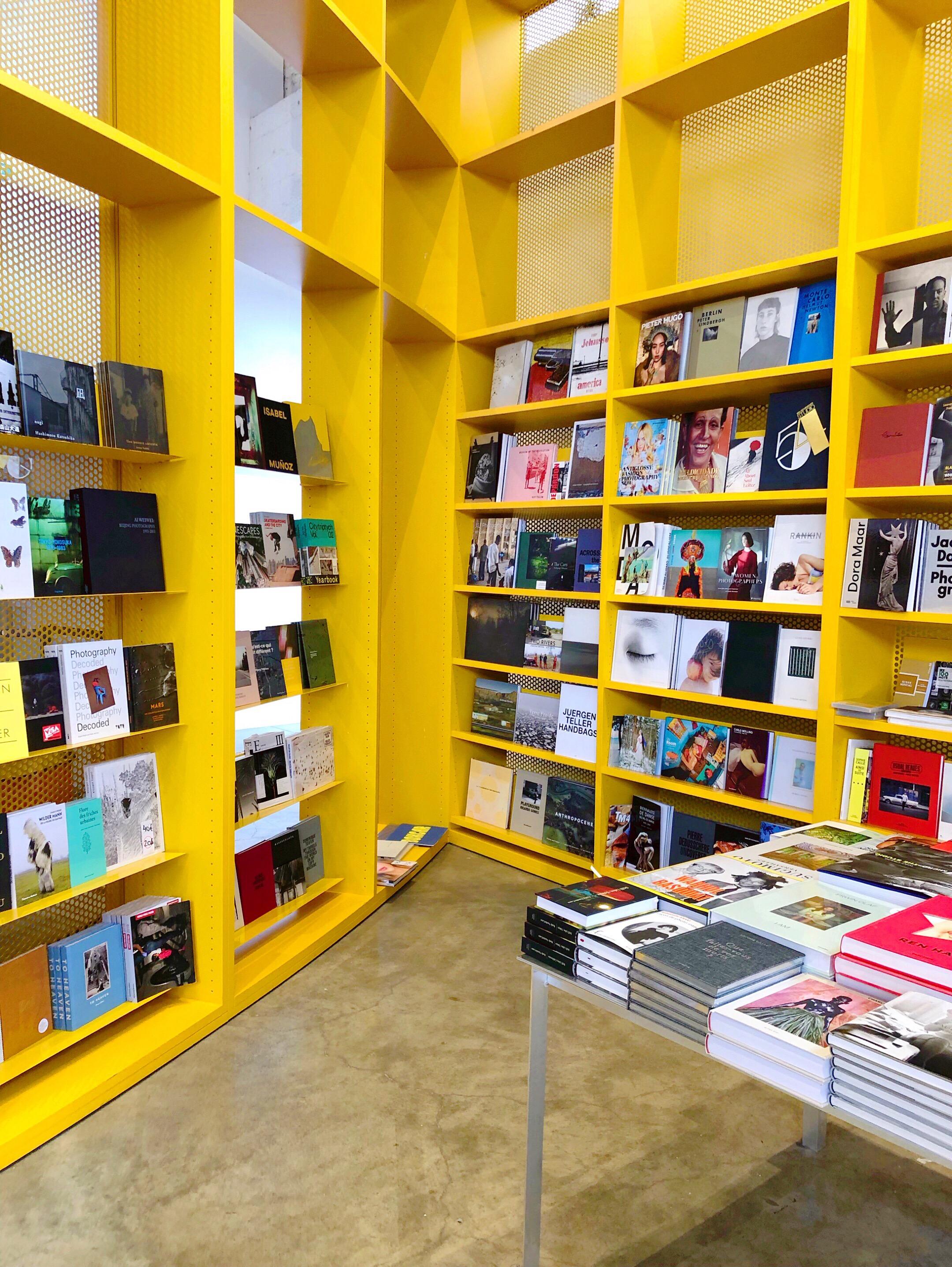 Palais de Tokyo bookstore
